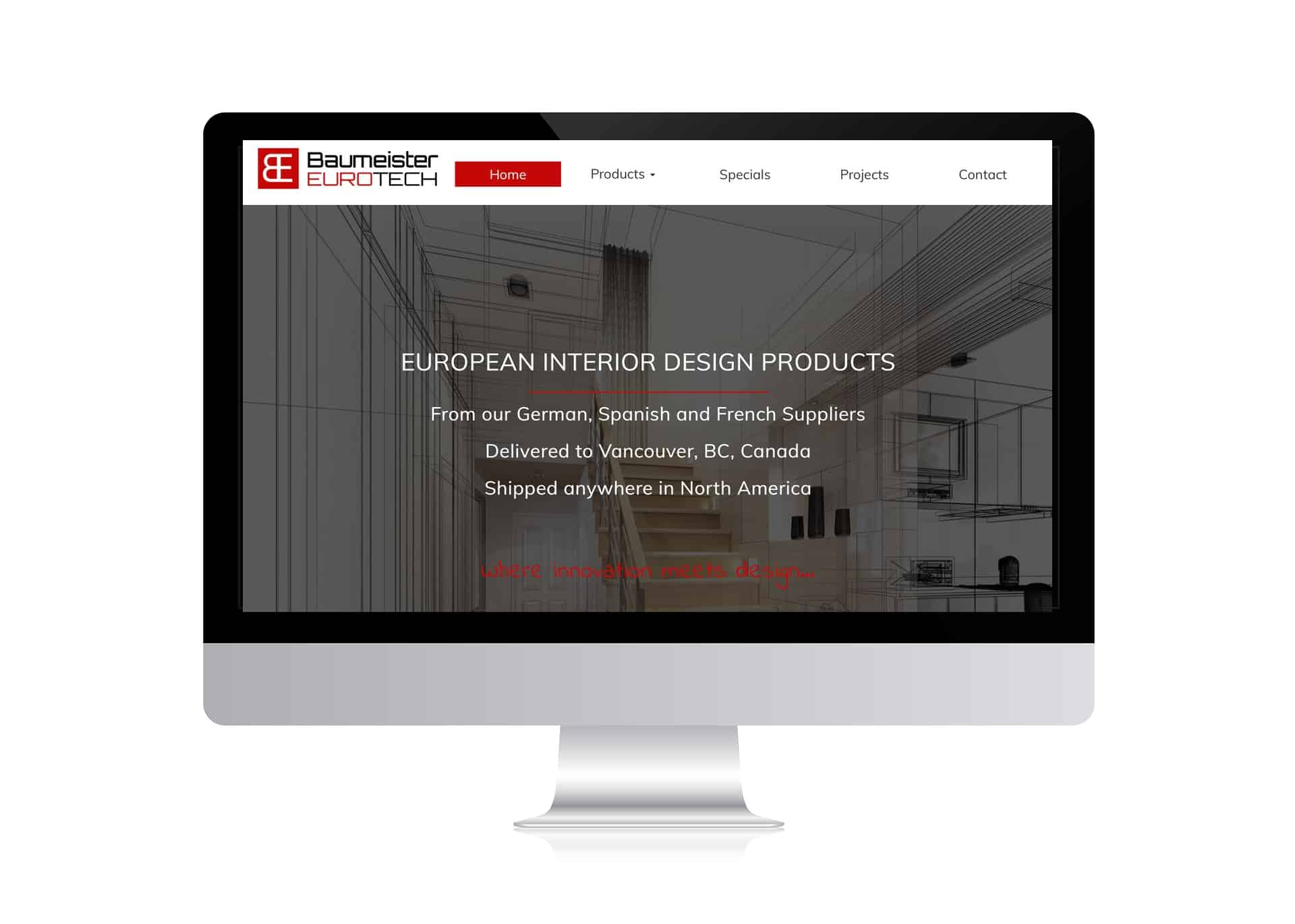 Portfolio Baumeister Eurotech Modern Interior Doors