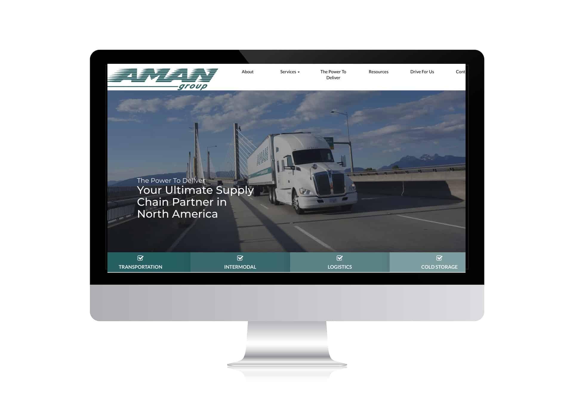 Portfolio Aman Logistics Trucking